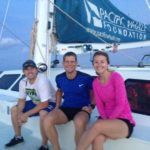Blake, Ueli, Whitney - Sailing form Maui to Kona
